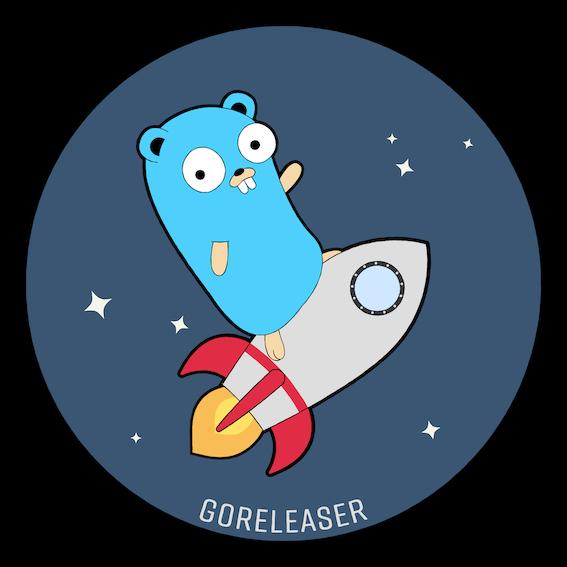 Logo do goreleaser